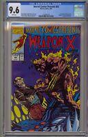 Marvel Comics Presents 83 CGC 9.6 Weapon X Wolverine Uncanny X-Men 1st Origin