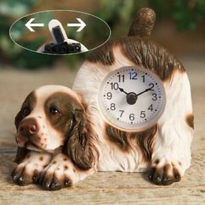 Widdop Best of Breed - Springer Spaniel Mantel clock