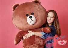 Giant Big Huge Japan Line Friends Brown Bear plush Soft Toys doll kids Xmas gift