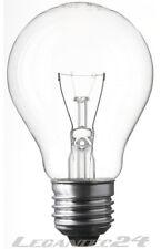 Glühlampe 12V 15W E27 60x105mm klar Glühbirne Lampe Birne 12Volt 15Watt neu