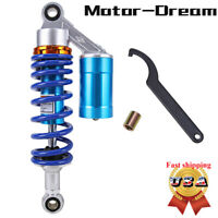 "280mm 11"" Air Rear Shock Absorbers Air Suspension Universal Fit For Street Bikes"