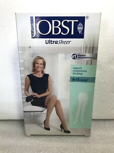1 Jobst Ultrasheer 8-15 mmhg Silky Beige waist CT Support Compression small. New