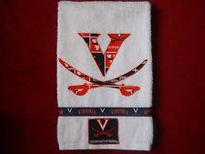 Univ of Virginia Cavaliers Hand Towel Bathroom, Kitchen Virginia Cavaliers Towel