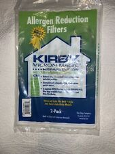 Kirby Micron Magic Hepa Filtration Vacuum Bags Allergen Reduction Filters 2 Pack