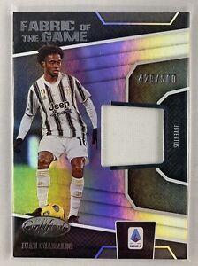 Juan Cuadrado 2020-21 Chronicles Certified Game Worn Patch Relic #/500 Juventus