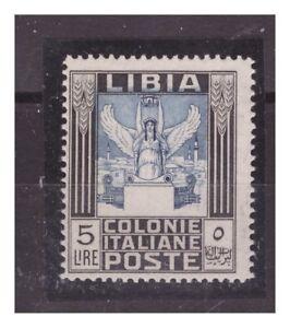 LIBIA 1940 - PITTORICA   5 LIRE   -  NUOVO **