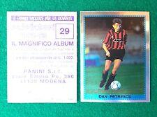 CALCIATORI 1992-93 92-1993 n 29 PETRESCU SCUDETTO , Figurina Sticker Panini NEW