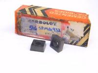 NEW SURPLUS 4PCS. CARBOLOY SPMG 432  GRADE: 516  CARBIDE INSERTS