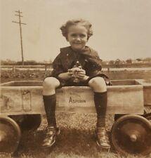 ANTIQUE VINTAGE BAYER ASPIRIN WAGON CONFIDENCE BOY VERNACULAR PHOTOGRAPHY PHOTO