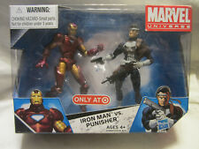 Marvel Universe Iron Man vs. Punisher Exclusive Action Figure 2-Pack - NEW
