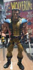"""Wolverine Action Figure Marvel Legends Icons 12"""" Toy Biz Unmasked Version loose"""