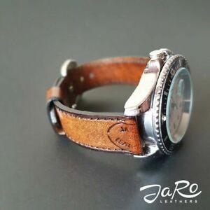 Uhrenarmband Leder, Armband / Uhrenarmband handgefertigt strap