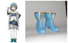 Puella Magi Madoka Magica Sayaka Miki Cosplay Costume Boots Boot Shoes Shoe UK