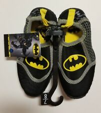 Batman Bat Signal Dc Comics Swim Shoes Water Aqua Socks Nwt Sz 7-8