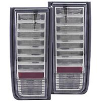 Fits 03-09 Hummer H2 Tail Lights Left & Right Pair w/ Smoke Lens