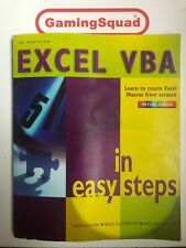 Excel VBA in Easy Steps, Ed Robinson PB Book, Supplied by Gaming Squad