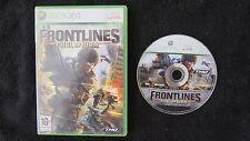 XBOX 360 : FRONTLINES : FUEL OF WAR - ITA !
