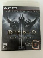 Diablo III: Ultimate Evil Edition For PlayStation 3 PS3 Very Good 2E