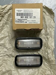 Genuine Porsche 911 912 930 964 993 Coupe Interior Light Pair 90163210128