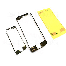 NEW 2 X IPHONE 5 BLACK OUTER LCD TOUCH SCREEN TRIM + 3M STICKER PART