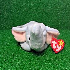 Peanut The Elephant Ty Beanie Baby MWMT Retired 1995 PVC Plush Toy - Ships FREE