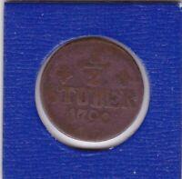 1/2 Stüber Jülich Berg 1790 Karl Theodor