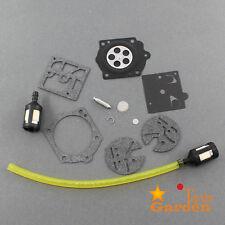 Carb Repair kit For Husqvarna 44 140S 240S 444 & Walbro HDC17 Chainsaw K10-HDC