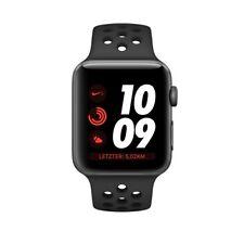 Apple Watch 3 Nike+ GPS 42mm Space Grau Aluminiumgehäuse mit Anthracite /Schwarz