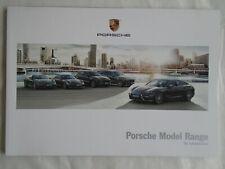 FOLLETO de rango de Porsche 2017 mercado de Estados Unidos
