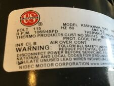 U S MOTORS 1/2 HP 3 Speed 115V WK35  Replacement NOS Heating Cooling AOPS7657