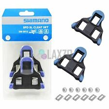Shimano SPD-SL Cleats Look Style Pedal Cleat Mount SH-12 Blue