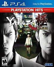 Yakuza Kiwami [PlayStation 4 PS4 SEGA Open World Action Fighting Weapons] NEW