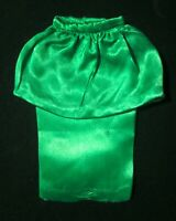 Vintage Original Barbie Theater Date #959 Green Satin Skirt 1963