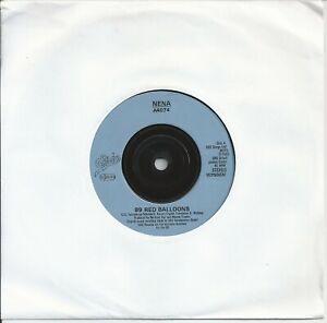 "Nena - 99 Red Balloons 7"" Vinyl Single 1983"