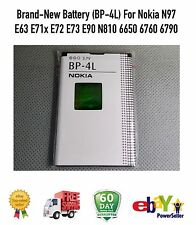 Brand-New Battery (BP-4L) For Nokia N97 E63 E71x E72 E73 E90 N810 6650 6760 6790