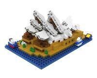 Box Santa Maria Columbus Sailing Fleet Micro Building Block 2660pcs LOZ-9048 w