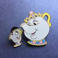 DLR - Beauty and the Beast Series Mrs. Potts and Chip Disney Pin 3374