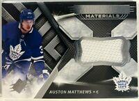 2018-19 SPx Extravagant Materials #EX-AM Auston Matthews Toronto Maple Leafs