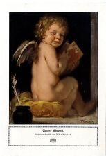 F. A. v. Kaulbach Amors Chronik Engel- Motiv Historischer Kunstdruck 1920