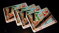 4 McDonalds 1994 Disney's Snow White and the Seven Dwarfs Promo Placemats