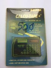 Vintage Sonin Calcu-Tape Combination Measuring Tape New In Package