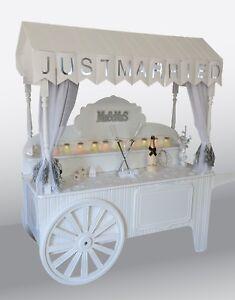 Wedding cart for sale, sweet cart, wedding, sweet bar display