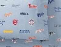 Pottery Barn Teen MLB Major League Baseball Standard Sham 100% Organic Cotton
