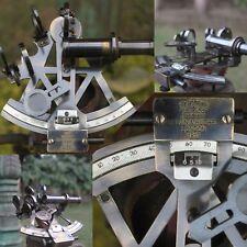 Brass Sextant Vintage Marine Working German Sextant Ship Instrument