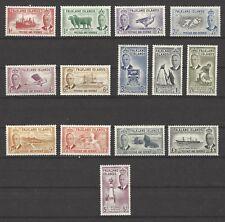 FALKLAND ISLANDS  # 107-120  MHG  GEORGE VI, PICTORIALS Complete Set of 14
