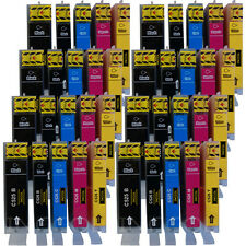40 Compatible replacements for Canon PGI-525 / CLI-526 printer ink cartridges.