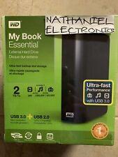 WD Western Digital My Book Essential 2tb External Hard Drive USB 3.0 NIB CHEAP