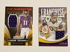 Minnesota Vikings X2 SHORT PRINT Card Lot. Jared Allen, Treadwell Rookie Patch🏈