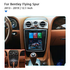 """12.1"""" Android 10.0 Radio Vertical Screen GPS for Bentley Flying Spur 2013-2019"""