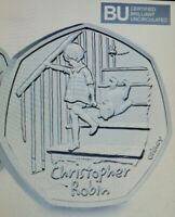 2020 UK Christopher Robin CERTIFIED BU 50p COIN IN STOCK READY TOGO FIFTY PENCE